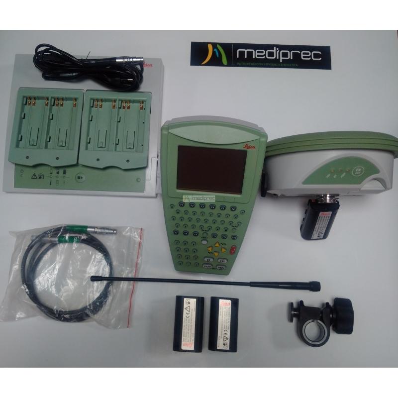 GPS LEICA 1200 FIJO+MÓVIL