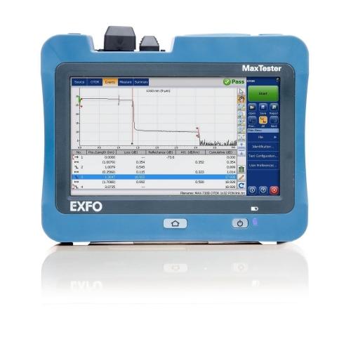 Alquiler OTDR MAX-730B-M2 (ftth planta externa)