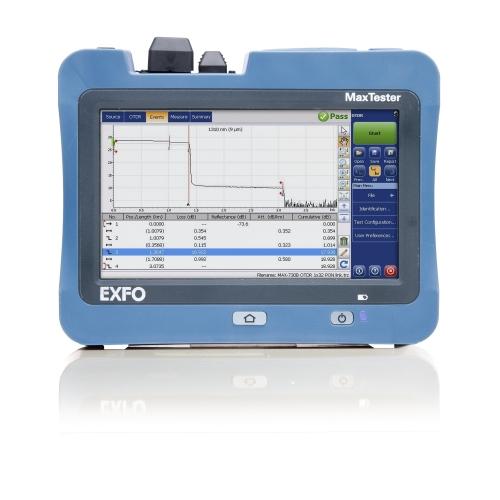 OTDR EXFO MAX-715B-NS1923 (Para I + M de FTTH)
