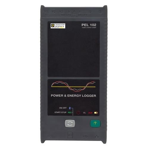 Analizador registrador de potencia y energía con sensores flexibles MA193-25 PEL103