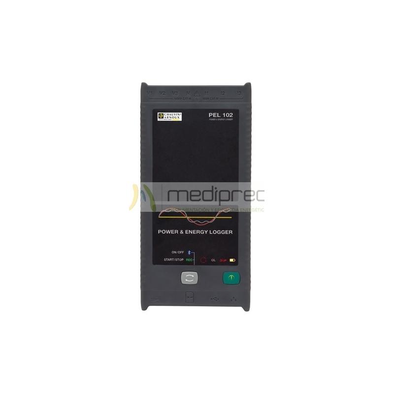 Analizador registrador de potencia y energía con sensores flexibles MA193-25
