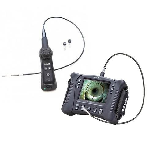 Vs70 + vsa4-1-w: kit de videoscopio articulado de 4 vías con foco largo