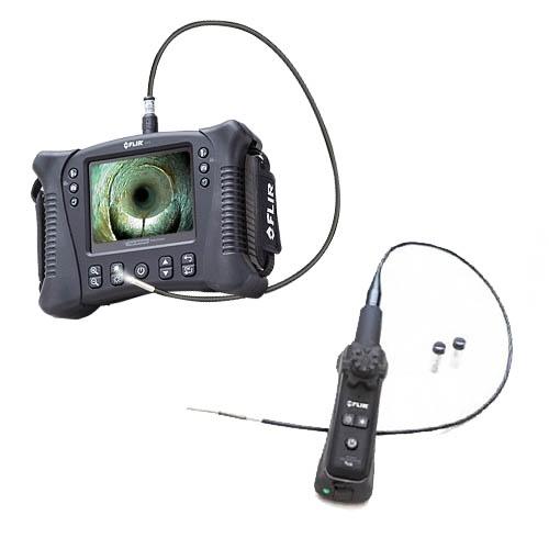 Vs70 + vsa4-1m-w: kit de videoscopio articulado de 4 vías con foco corto