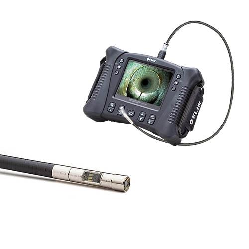 Vs70 + vsc2-58-1fm: kit de videoscopio de inspección con motor de 2 canales