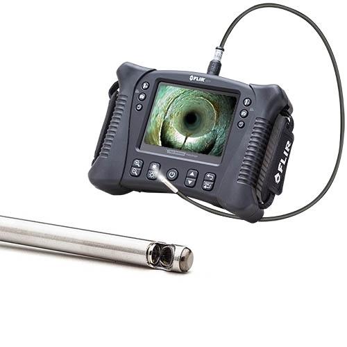 Vs70 + vsc65-12s: kit de videoscopio de inspección con motor de acero inoxidable