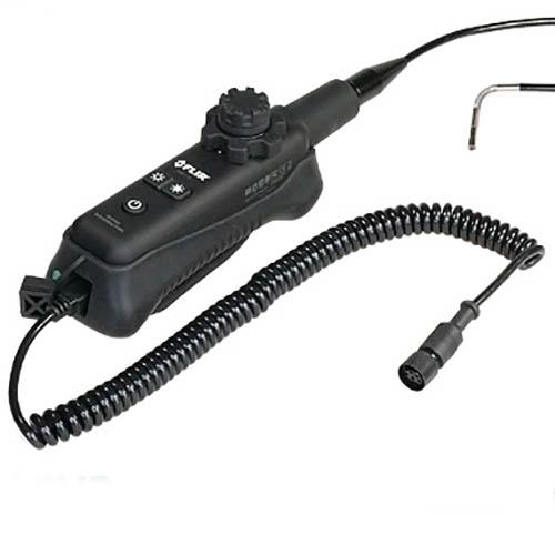 Videoscopio de foco largo con articulación cableada de 6mm de 2 vías con sonda de 1 metro