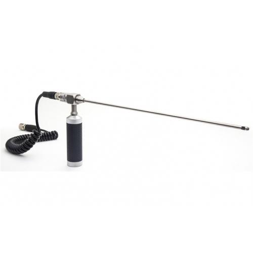 Videoscopio cableado rígido de foco corto de acero inoxidable de 6.5mm x 17 pulgadas