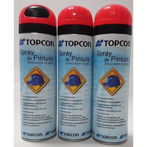 Sprays de pintura para topografía