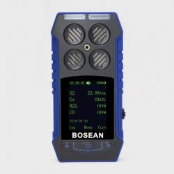 Detector portátil múltiple de gases CO, H2S, O2 Y LEL