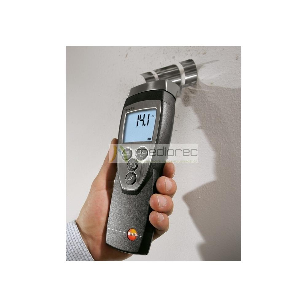 Medidor de humedad en materiales testo 616 alquiler y - Medidor de humedad ...