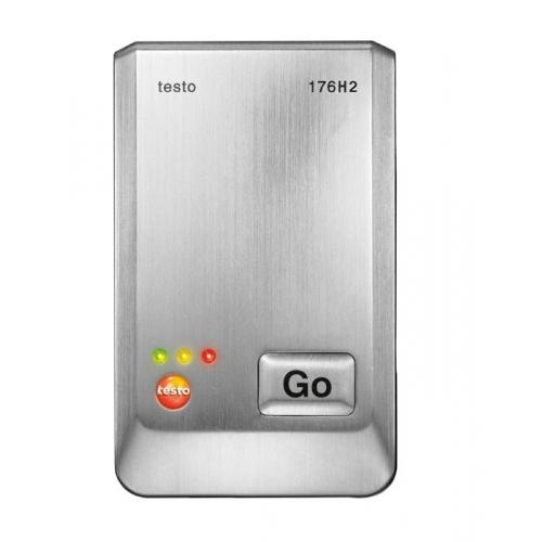 Testo 176 H2 - Data logger de humedad y temperatura de altas prestaciones