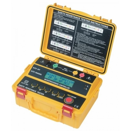 Medidor de tierra profesional AD4234